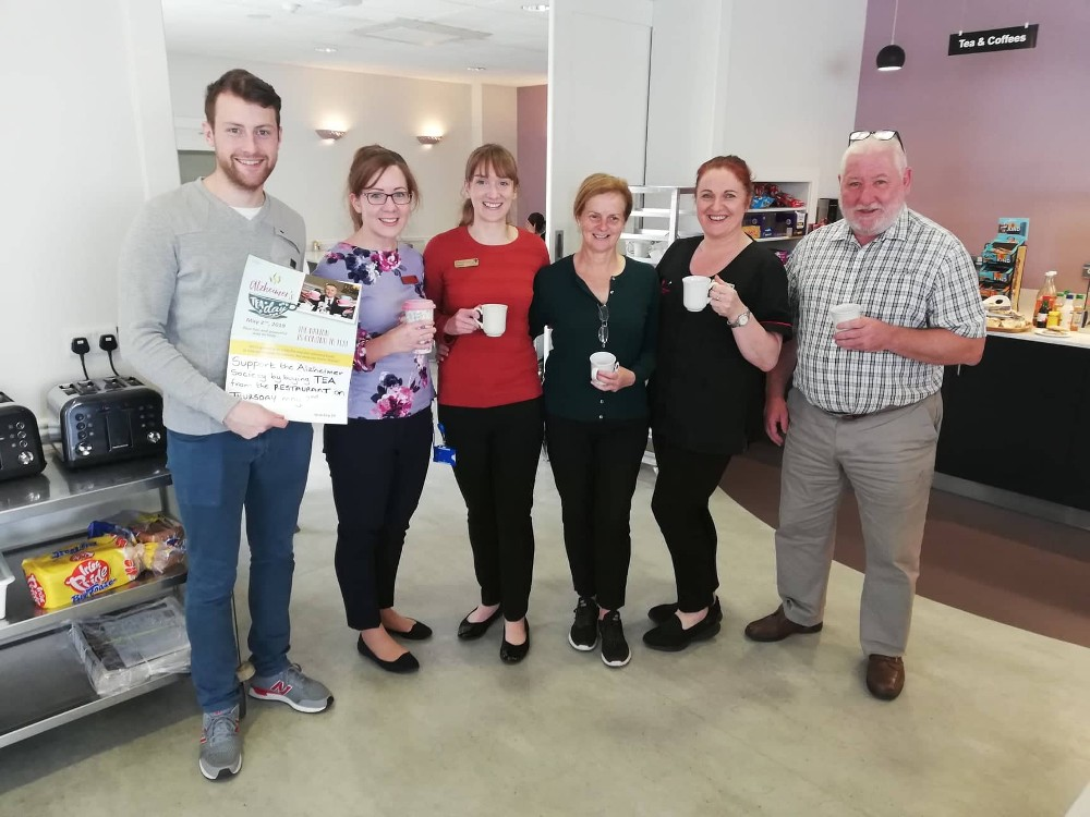 We are delighted to participate in the 2019 Alzheimer's Tea Day in aid of the Alzheimer's Society of Ireland
