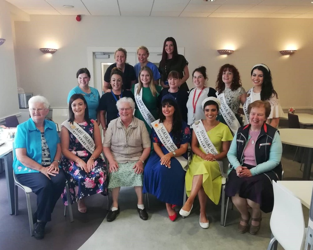 The Rose of Tralee festivities begin in the Bon Secours Hospital Tralee