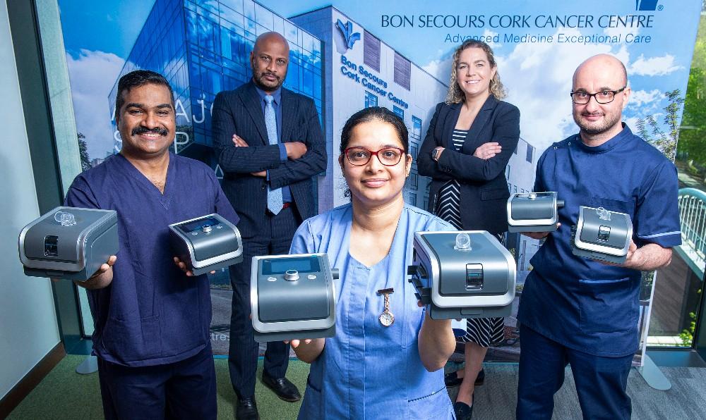 Bon Secours Hospital, Cork Donation to India