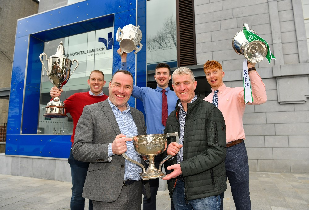 Bon Secours Hospital Limerick at Barringtons become Limerick Senior Hurling Championship sponsors