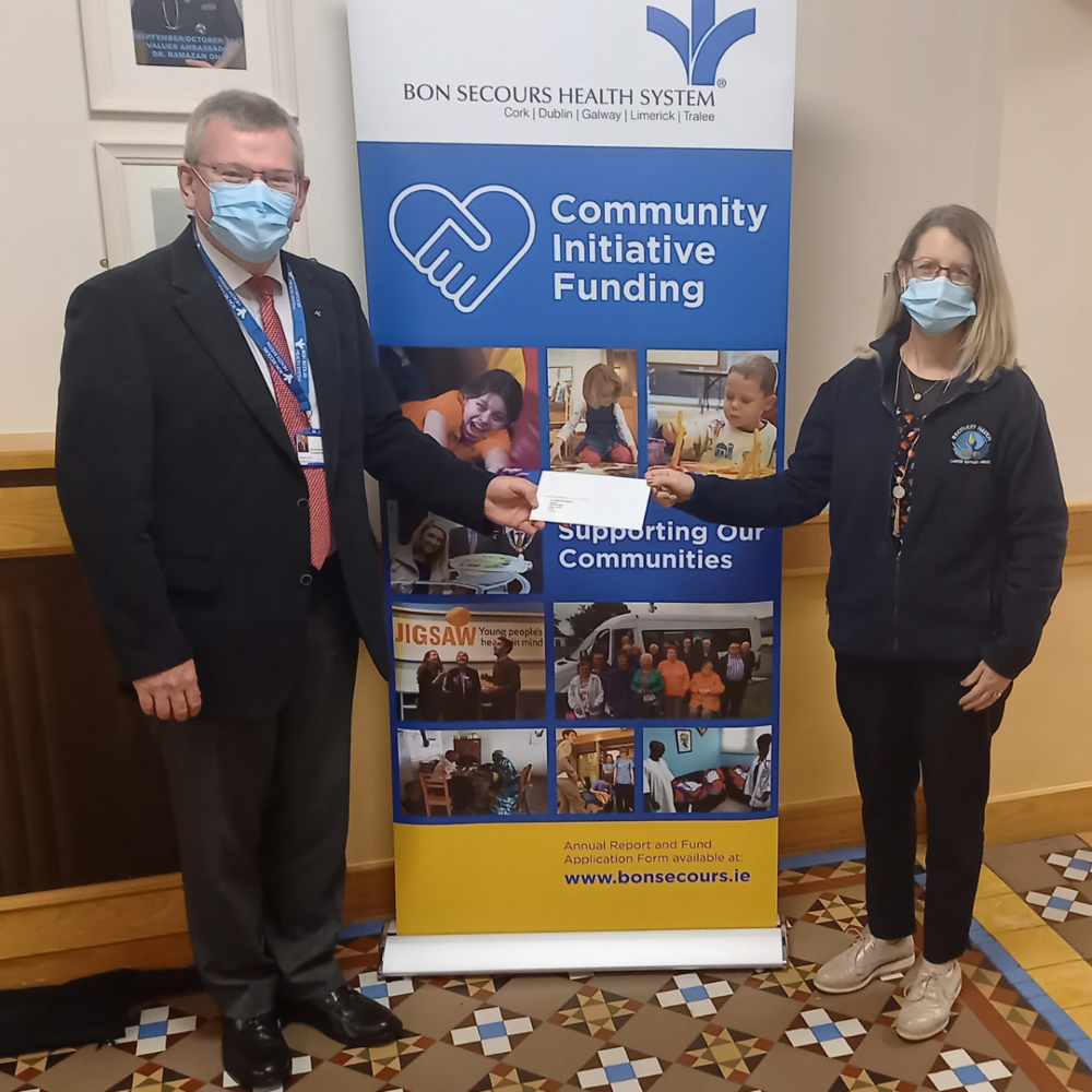 We are delighted to support Recovery Haven through our Hospital's Community Initiative Fund.