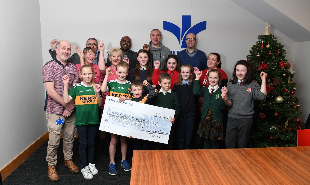 Six Kerry Primary Schools receive funding from Bon Secours Hospital Tralee