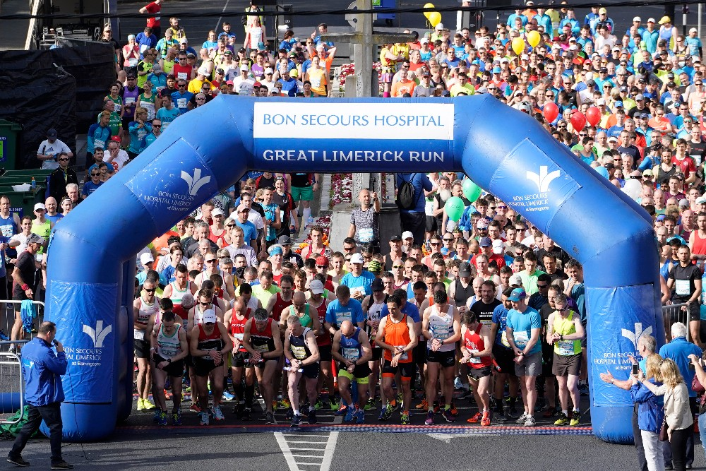 Bon Secours Hospital Great Limerick Run 2018 look book