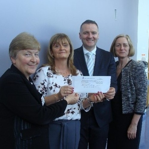 Bon Secours donate €10,000 to Fold Ireland