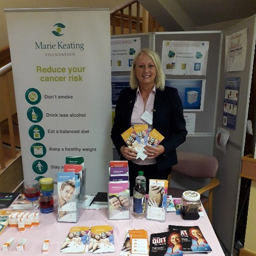 Marie Keating Foundation #Skintervention campaign visits Bon Secours Hospital Tralee
