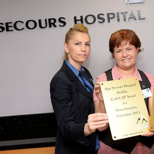 Bon Secours Hospital Dublin Notches up CAP Gold for Catering.
