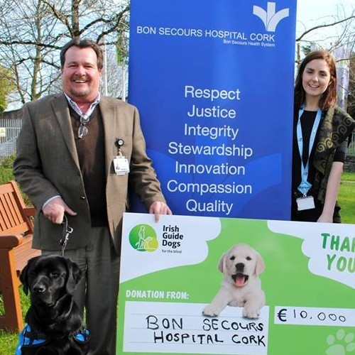 BSHS Donates to Irish Guide Dogs