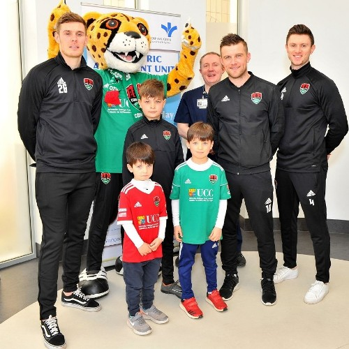 Visit to BSHC by Cork City Football Club