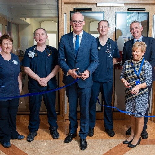 An Tánaiste Mr Simon Coveney T.D officially opens the Paediatric Assessment Unit, Bons Secours Hospital, Cork