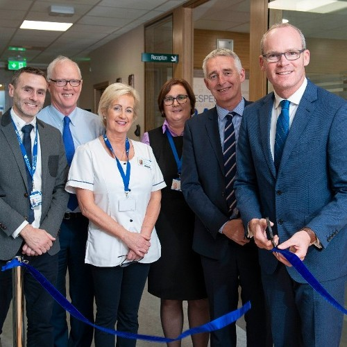 An Tánaiste Mr Simon Coveney T.D officially opens the Extension of the Radiology Department, Bons Secours Hospital, Cork