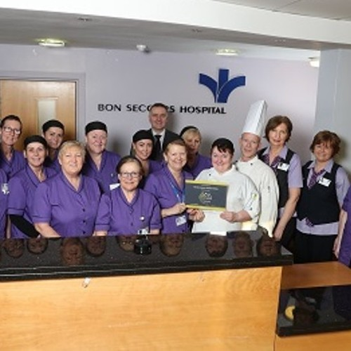 The Bon Secours Hospital Dublin wins a double gold award for catering and cleaning