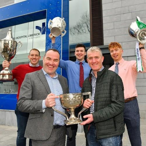 Bon Secours Hospital Limerick at Barringtons become Limerick Senior Hurling Championship sponsors