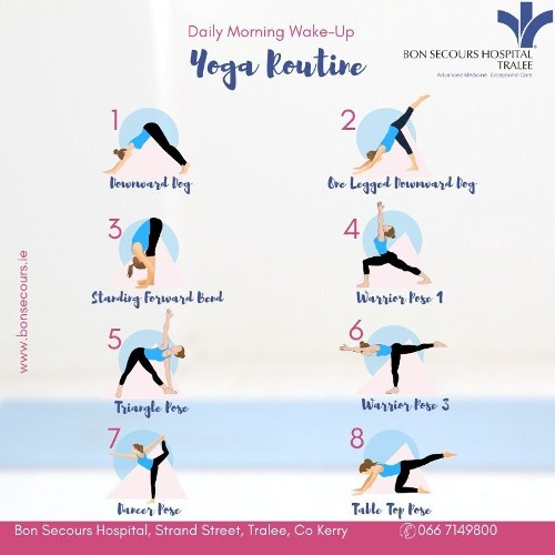 Morning Yoga Routine To Start Your Week Off Right
