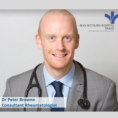 Consultant Rheumatologist, Dr Peter Browne, features on Radio Kerry's Medical Matters.