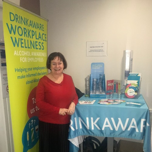 We are delighted to welcome Marie Quinn from DrinkAware to the Bon Secours Hospital Tralee