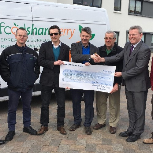 We are delighted to be able to support Foodshare Kerry through our Community Initiative Fund!
