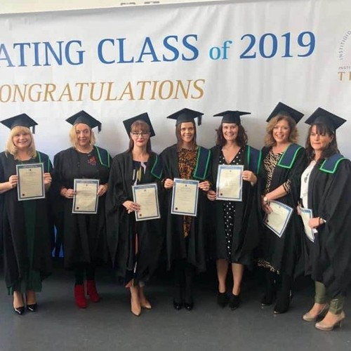 Congratulations to our staff who graduated from the Institute of Technology Tralee with a Certificate in Strategic Services Planning and Management
