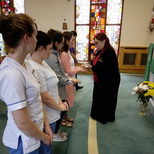 A special service and tea party was held in honor of the student nurses who completed their internship at Bon Secours Hospital Tralee.