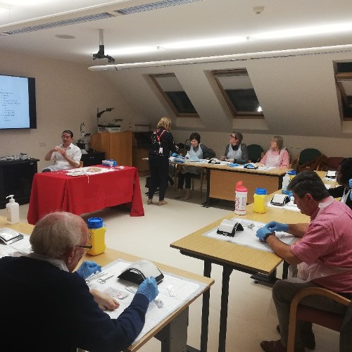 Approximately 50 GPs attended the Suturing and Wound Management Workshop in The Bon Secours Hospital Tralee