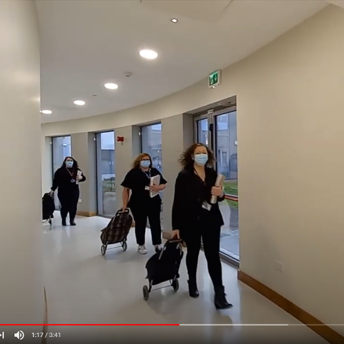 Bon Secours Hospital Tralee participates in the #JeruselemaDanceChallenge in aid of 3 charities!