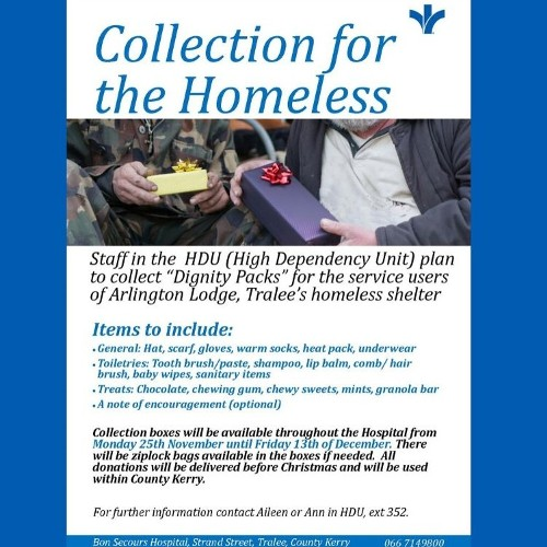 Collection for the Homeless