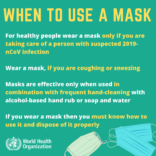 How To Wear Masks And Gloves During The COVID-19 Outbreak
