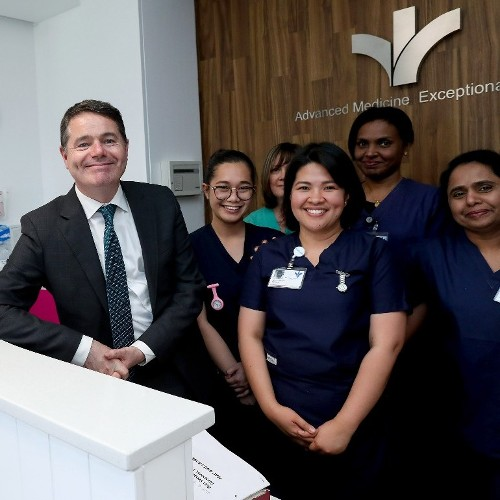 New Medical Assessment Unit officially opened by Mr Paschal Donohoe - Minister for Finance and Public Expenditure and Reform in the Bon Secours Hospital Dublin
