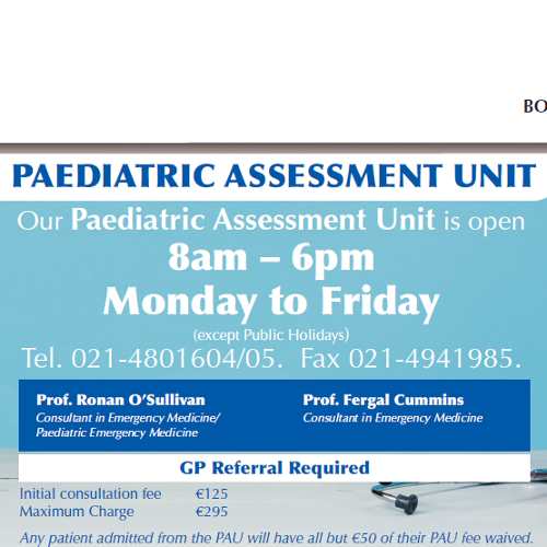 Paediatric Assessment Unit