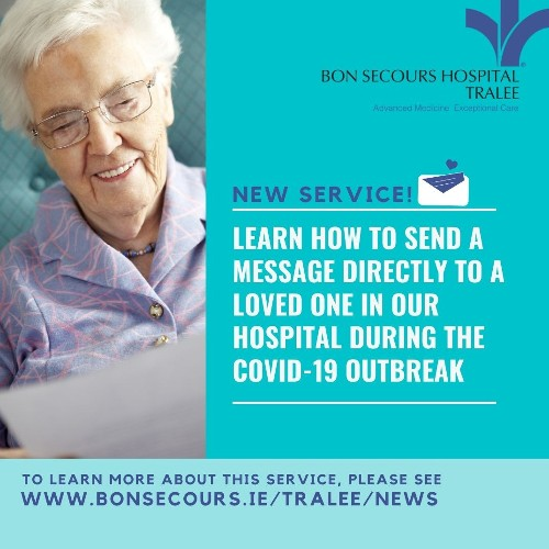 Keeping Contact with Patients in Bon Secours Hospital Tralee During The COVID-19 Outbreak