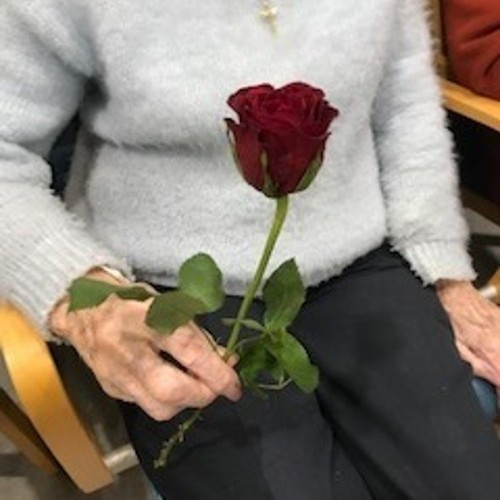 Valentines Day at the Care Village