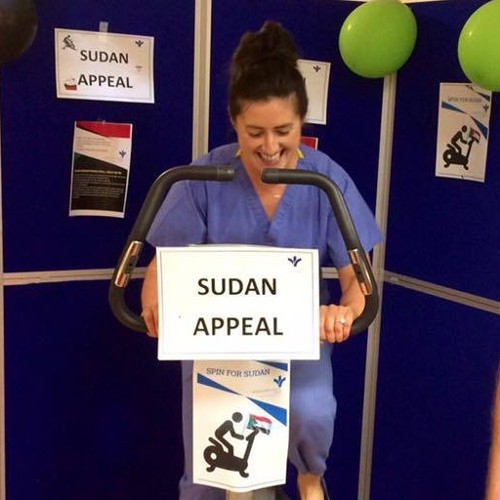 Staff of the Bon Secours Hospital Tralee begin fundraising for the Sudan Appeal!