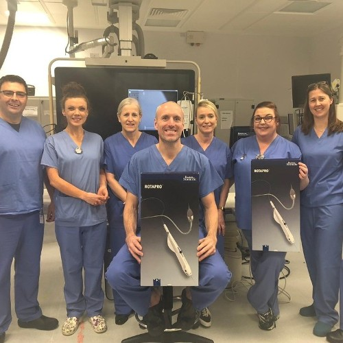 First In Ireland RotaPro case in Bon Secours Hospital, Cork.
