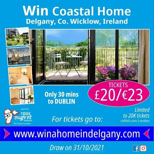 Win A Coastal Home In Delgany