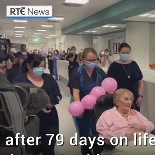 Patient moves from ICU after 79 days on life support due to Covid-19