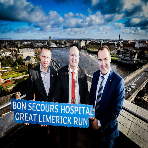 BON SECOURS HOSPITAL GREAT LIMERICK RUN  Saturday 5th May - SUNDAY 6th May 2018