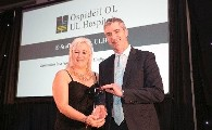 Bon Secours Health System sponsor Award at the UL Hospitals Group Awards 2016