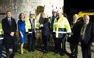 "An Taoiseach Enda Kenny ""turns the sod"" on a new €6m Cardiology Service at Bon Secours Hospital Galway"