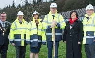 Minister Simon Coveney turns the sod on new development at Lee Road Cork