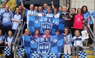 Wishing the Dublin Football Team good luck at the weekend - bring Sam Maguire home!!