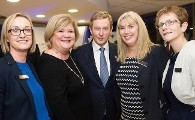 "An Taoiseach Enda Kenny ""turns the sod"" on a new Cardiology Service at Bon Secours Hospital Galway"