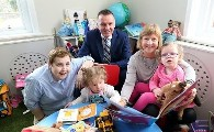 New National Library for Blind Children Supported by Bon Secours Hospital Dublin in ChildVision